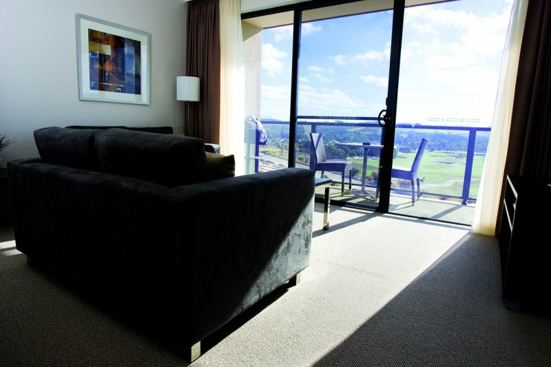 McCracken Country Club - Apartment Living Area