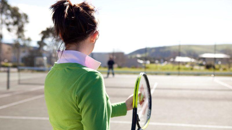 McCracken Country Club - Tennis Court
